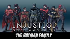 batman of the family injustice gods among us batman family