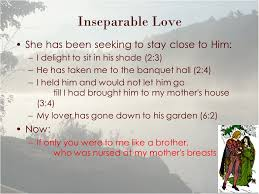 Theme Song For Seeking Song Of Songs The Serving Ch 8 Inseparable 1 If