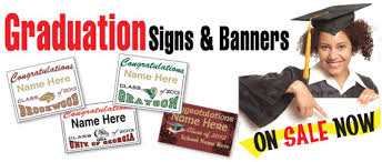 graduation signs graduation signs and banners