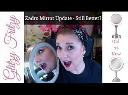 zadro lighted makeup mirror 6 month follow up zadro variable next generation lighted vanity