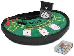 Black Jack Table by Custom Mini Blackjack Table Set Promotional Casino Games