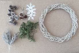 diy winter wreath puddy s house