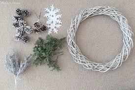 wreath supplies diy winter wreath puddy s house