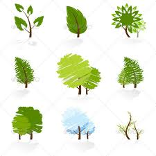 tree symbol tree symbols set by vvad graphicriver