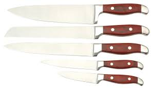 wooden handle kitchen knives 5pcs kitchen knife set with wooden handle products china 5pcs