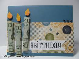 money cards crafting with money gift on the card