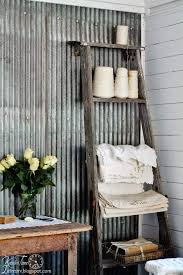 ways to decorate with corrugated metal decorating your small space
