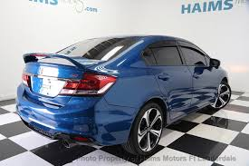 2014 used honda civic sedan 4dr manual si at haims motors serving