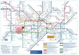 London Metro Map by London Subway London Subway Map London Underground Map