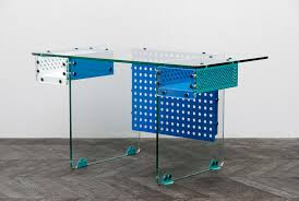 blue writing desk writing desk fabien cappello