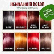 mahogany hair color chart hair colouring products ebay