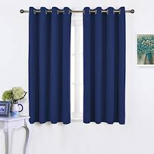 Curtains And Drapes Amazon Amazon Com Nicetown Blackout Curtains And Drapes For Kitchen