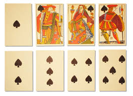 historic card rule book plus c16th cards