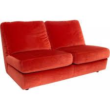 un canapé ensemble d un canapé et d une chauffeuse en velours édition