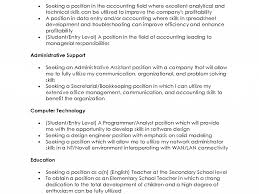 resume objective statement for administrative assistant nice design resume objective statement example 8 sample statements download resume objective statement example