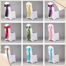 wedding chair sashes cheap wedding chair sashes chair decorative sashes party