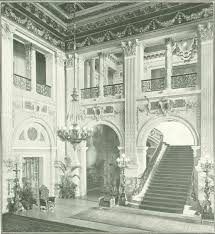 digital history project the breakers newport home of cornelius entrance hall and staircase at the breakers