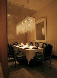 dining room crystal chandeliers rectangular crystal chandelier dining room home design ideas