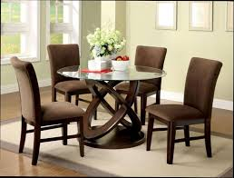 round glass dining table round dining room tables is suitable