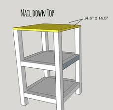 Woodworking Plans For End Tables by Ana White Build A Small X End Table Featuring Shades Of Blue