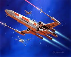 spaceship rocket ralph mcquarrie star wars ralph