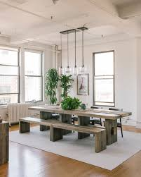 kitchen island instead of table responsible design makes an impact in a soho loft front main