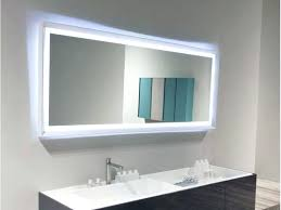 Heated Bathroom Mirror With Light Bathroom Mirror With Lights Mirror Design