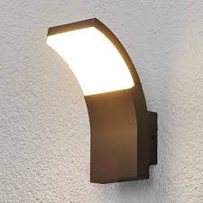 led outdoor wall light timm 9619048 buy throughout led