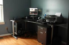 Dual Monitor Gaming Desk Desk Build Complete My Diy Computer Desk Awesome Best