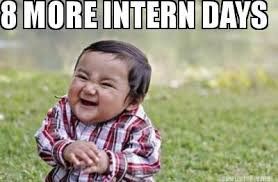 Intern Meme - meme maker 8 more intern days
