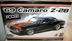 chip foose camaro revell 1 12 1969 chevy camaro z 28 coupe chip foose ebay