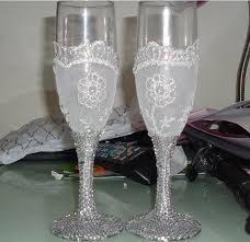 wedding glasses cheap wedding toast glasses