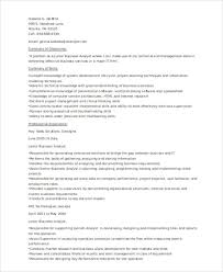 Junior Business Analyst Sample Resume by 30 It Resume Samples Free U0026 Premium Templates