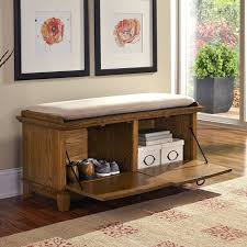Cushioned Storage Bench Indoor Padded Storage Bench Home Inspirations Design Create