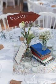 mariage voyage une décoration de mariage autour du voyage pretty wedding