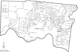 Map Of Ohio Cities by File Map Of Hamilton County Ohio With Municipal And Township