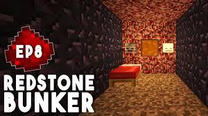 let u0027s build redstone bunker ep8 redstone prison control room
