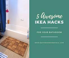 ikea runnen hack 5 awesome ikea hacks for your bathroom bathroom overhaul