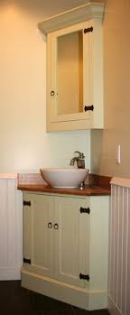 Corner Basin Units Are Ideal For Ensuites And Smaller Bathrooms - Corner sink bathroom cabinet