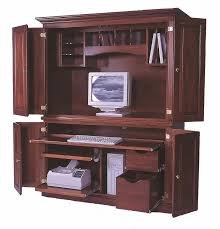 Computer Desk Armoire Amish Computer Armoire