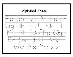 free printable letter name tracing sheets for preschool