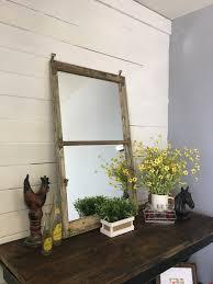 large mirror distressed mirror window pane mirror window mirror