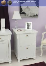 Wood Two Drawer Filing Cabinet by White File Cabinet As The Accent Of Your Room File Cabinet