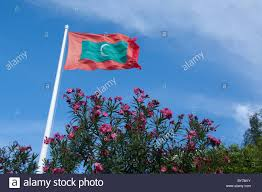 Flag Capital Maldives Male Capital City Of Maldives Archipelago Maldivian