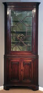 antique display cabinets with glass doors antique georgian mahogany corner cupboard antique display cabinet