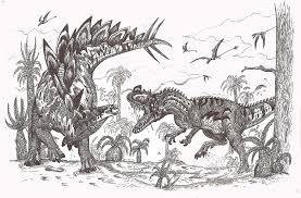 stegosaurus vs ceratosaurus by hodarinundu on deviantart