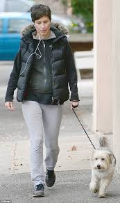 Rugged Clothes Pregnant Singer Missy Higgins Steps Out For The First Time After