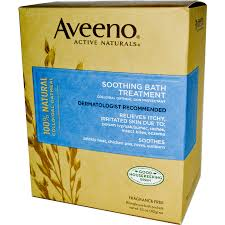 aveeno active naturals soothing bath treatment fragrance free