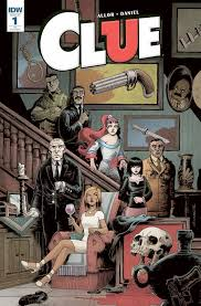 the classic board game clue is now officially a comic book