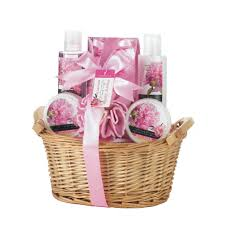 peony vanilla spa gift basket wholesale at eastwind wholesale gift